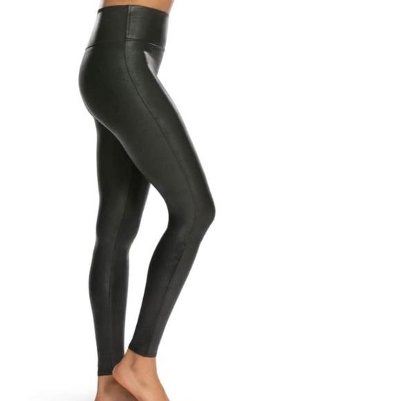 a684f9c75a00d Spanx faux leather leggings (medium- petite). M_5b2a97aac89e1d35a7b21b91
